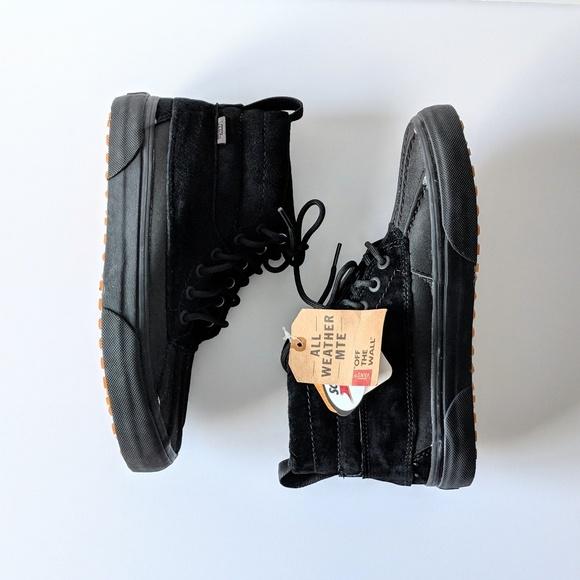 b3779cc83ade2 Vans Shoes | Sk8hi Mte De Pato Duck Boots Black M7 W85 | Poshmark